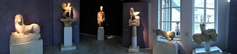 Kerameikos (graveyard) museum views