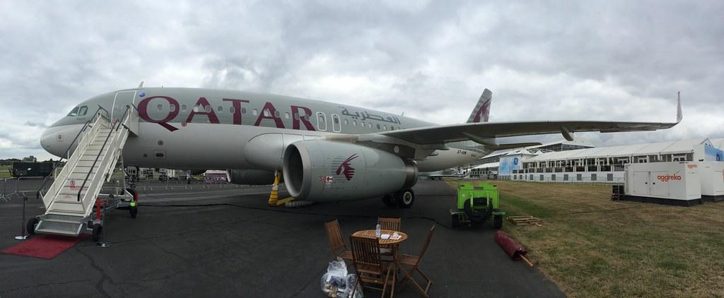 Qatar Airways Airbus A320-200 A7-AHW