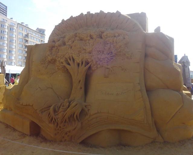 Sculpures sur sable Disney - News Touquet p.1 ! 14956941145_2daea15145_z
