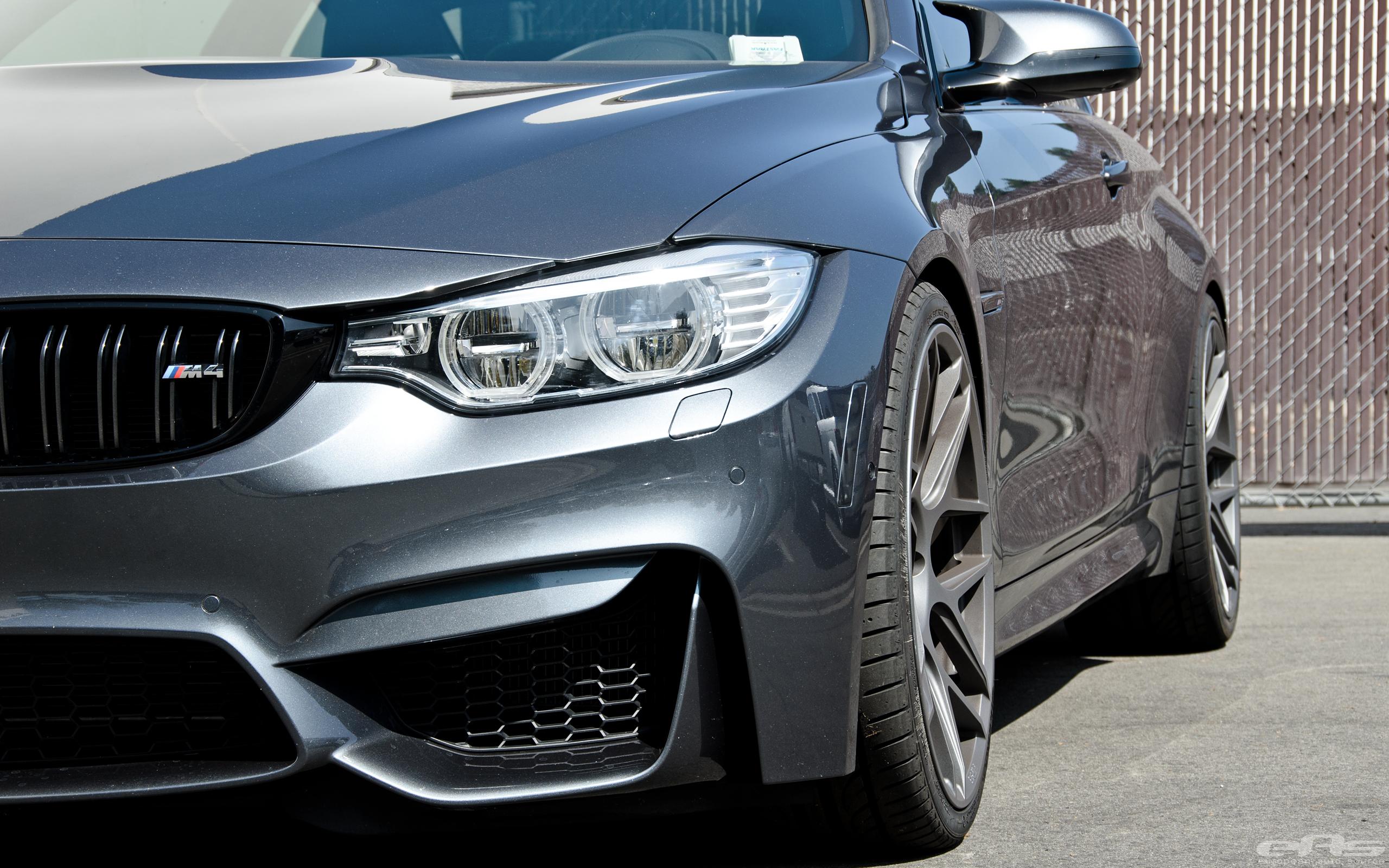 Mineral Gray M4 On Hre Flowform Wheels Bmw Performance