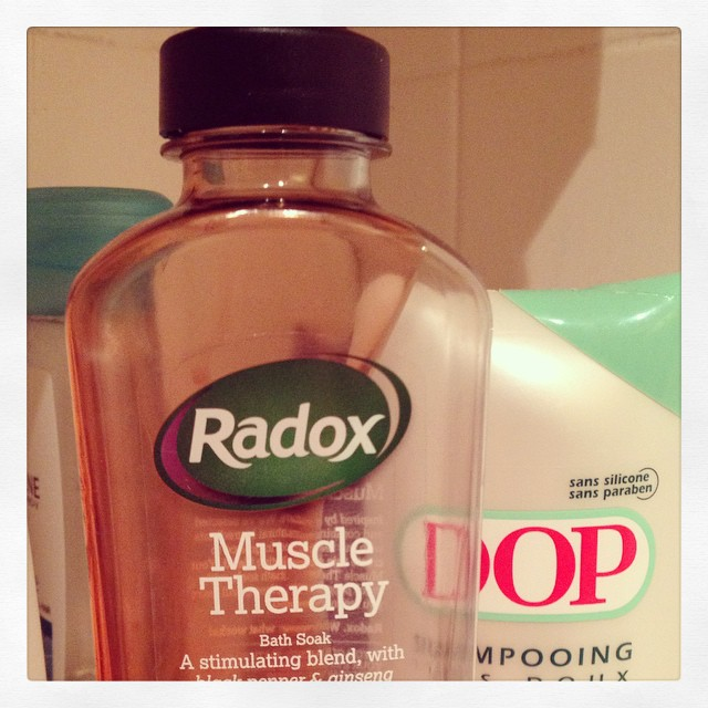 I am in great need of a muscle therapy bubble bath this evening. I went running with my local running club this evening and ran almost twice as far as I've ever run before! #running #legsdontworkanymore #intervaltraining #etonmanorac #london #bath #bubble