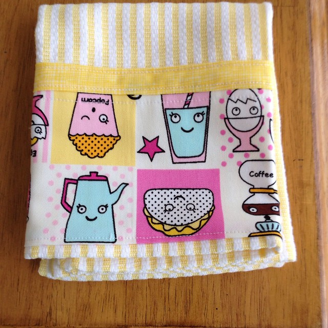 Kinda kawaii tea towel