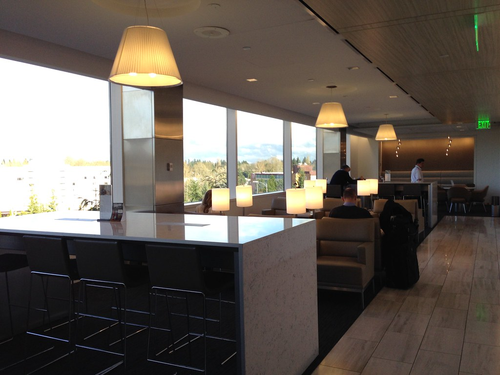 The renovated United Club