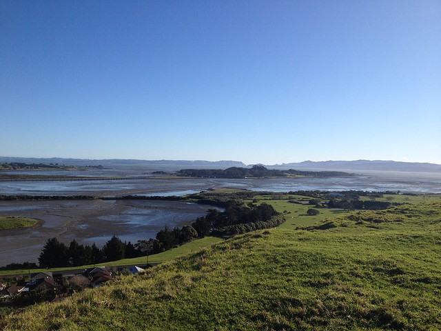 Manukau Harbor from Mangere Mountain