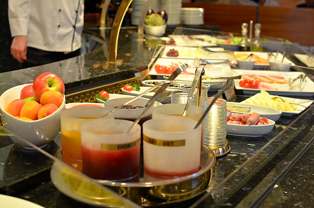 Breakfast buffet, Hotel Torbrau