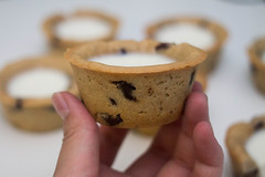 chocolate chip cookie cup