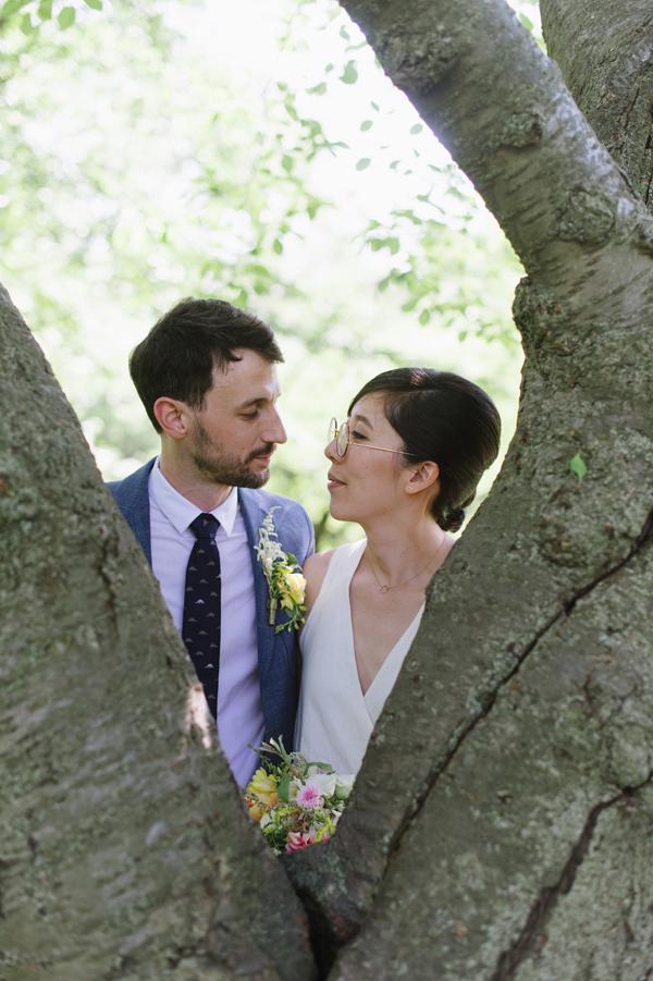 Celine Kim Photography intimate High Park Parkdale restaurant wedding Toronto wedding EM-37