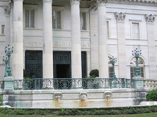 Marble House fountain