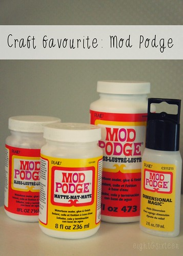 mod podge craft favourite eightandsixteen