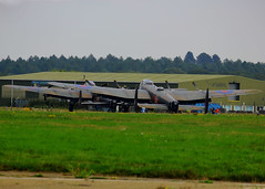 Lancasters parked up - Bournemouth 13-9-2014