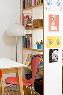 Room Divider: Kid's Books, Toys & Artwork
