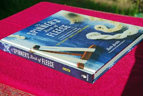 The Spinner's Book of Fleece by Beth Smith autographed for irieknit
