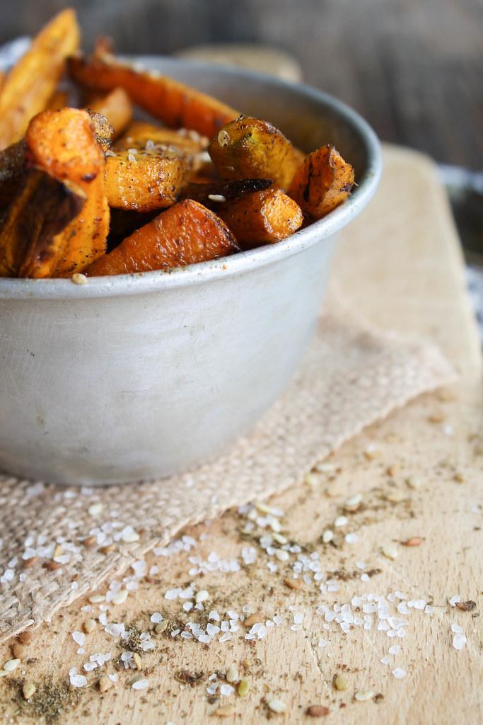 Recette frites de carotte