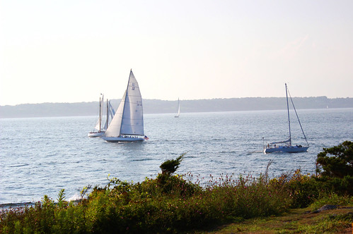 sailboats, newport, rhode island, ri, ocean, nautical