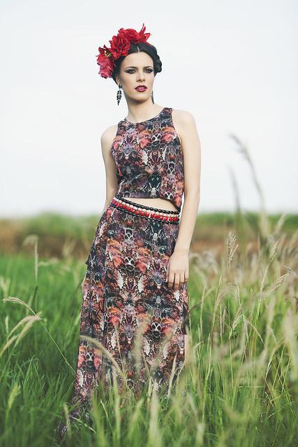 Anna Theodora - Lu2019u00e2me mouillu00e9e par une tendre rosu00e9e