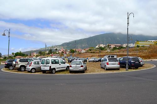 Parking at Corpus Christi, La orotava, Tenerife