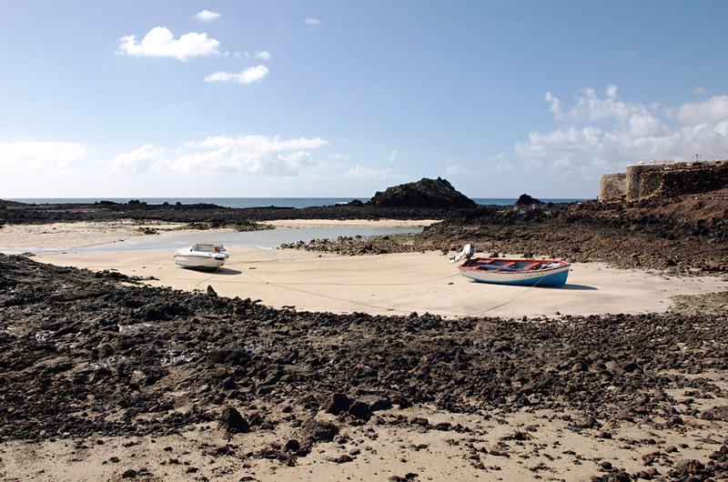 Boats, El Puertito, Isla de Lobos, Fuerteventura