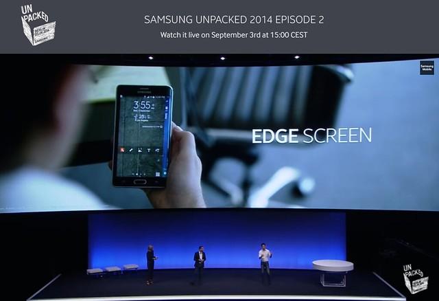 [IFA 2014] 驚喜!曲面螢幕應用 – 三星 Galaxy Note Edge 發表 @3C 達人廖阿輝