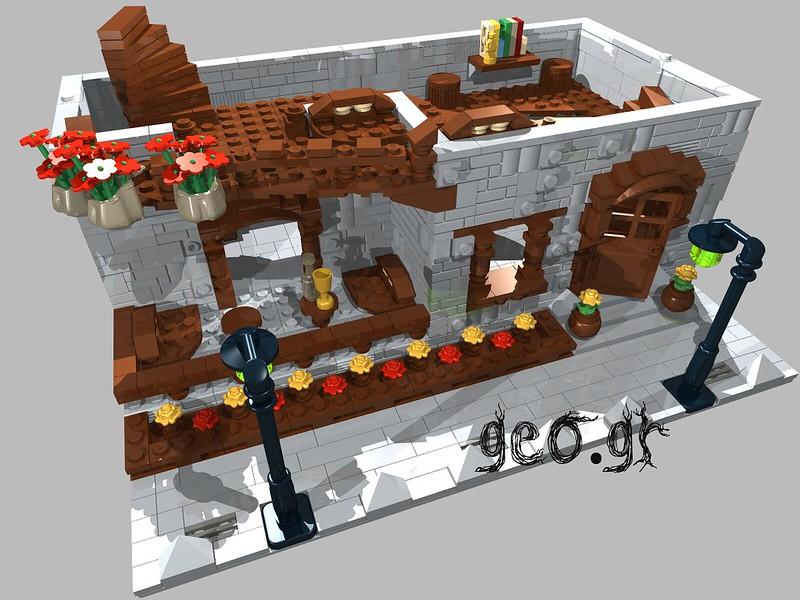 [Digital MOC]:Modular Cottage House 15111783960_142a02fca4_c