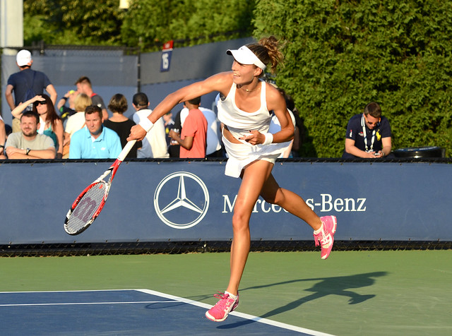 2014 US Open (Tennis) - Tournament - Katarzyna Piter