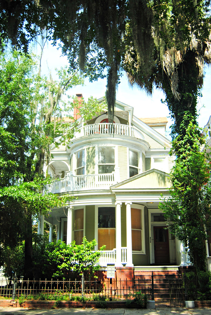 Victorian home across from Forsyth park