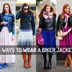 4 Ways to Style a Biker Jacket (With Skirts and Dresses)