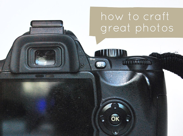 how-to craft great photos : equipment