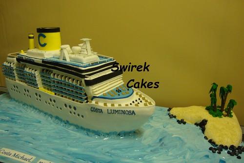 Costa Luminosa Cake