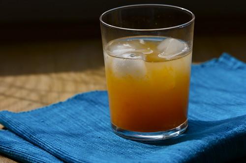 Clementine-lemon-ginger sparkler