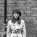 Small photo of Irish girl in Manchester
