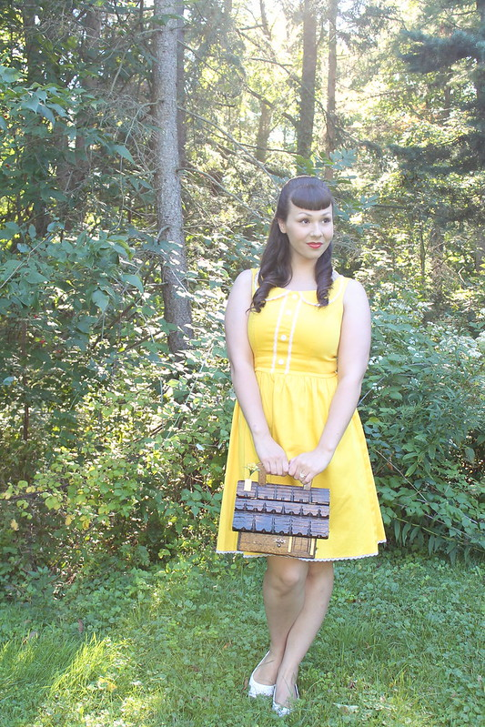 Steady Clothing yellow dress