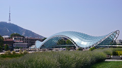 Most Pokoju. Tbilisi.
