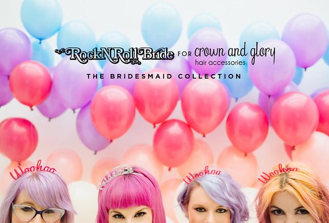 rock n roll bride hair accessories