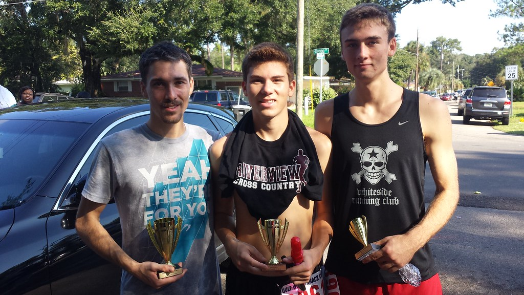 1st, 2nd, and 3rd Place All times under 17 Minutes!