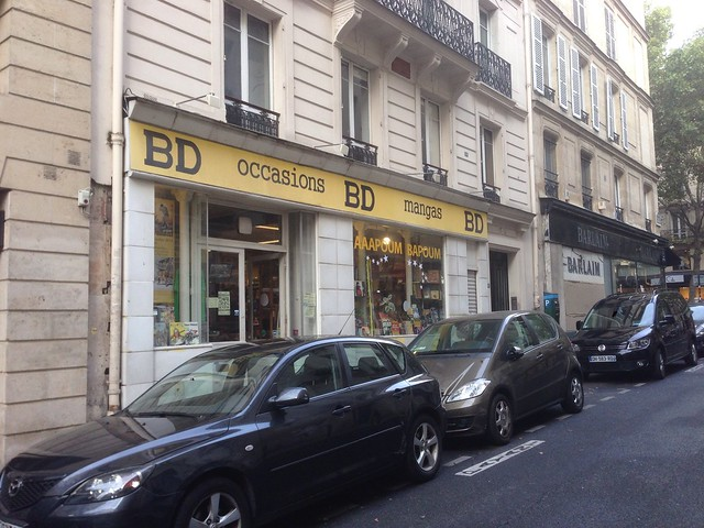 Librairie Aaapoum Bapoum, rue Serpente - Paris