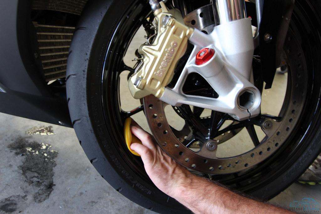 Motorcycle Wheel Detailing Atlanta