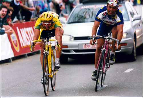 Amstel '95 - Gianetti precede Cassani