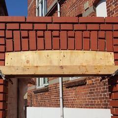 Muret stik #murerodense #mursten #murværk