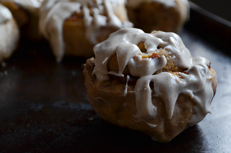 Pumpkin Pie Whole Wheat Cinnamon Rolls