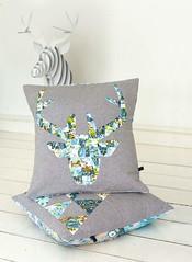 LQP13.deer cushion