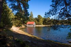 Boat house on Loch Vaa