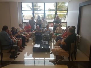 Paulinho da Força participa de evento e se reúne com comerciários