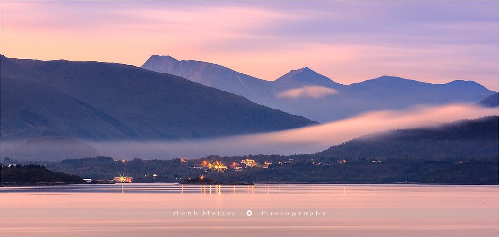Sunrise at Karvag - Norway