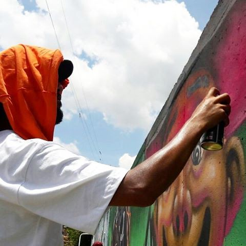 Protetor solar... 🌞👕  📷 @guetus1.sp.br  #joksjohnes #joks #graffitibrasil #protetorsolar #vivendo #spraypaint