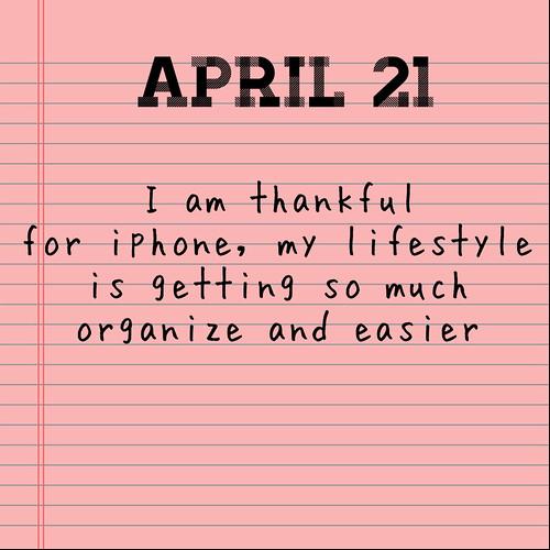 April Gratitude 21
