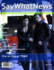 PRIME May 2014 Interview/Magazine Cover
