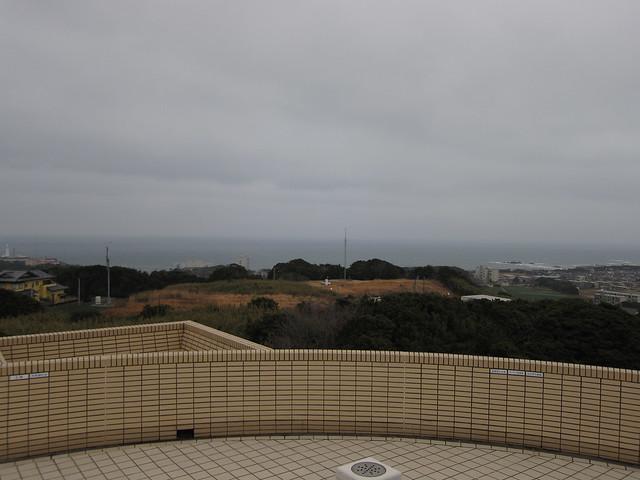 地球の丸く見える丘展望館 ()