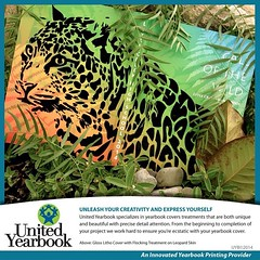 @UnitedYearbook: Leap into adventures w/custom cover treatments! #unitethememories #yearbook #Graduates2014 #inspiration