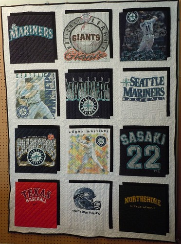 Father's Day T-shirt quilt