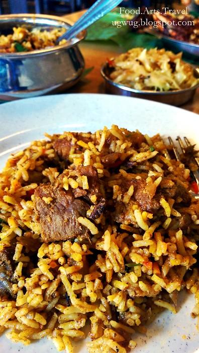 Briyani Mutton Rice